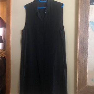 J Crew Black dress. Size XL very soft